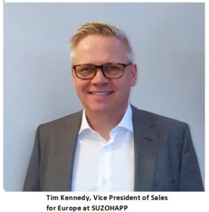 tim kennedy vice president of sales for europe at suzohapp